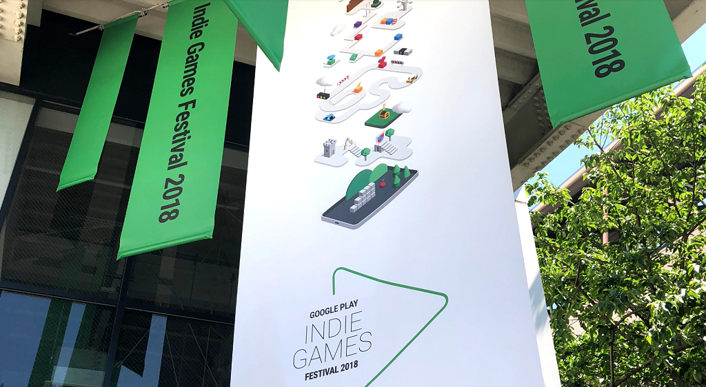 Google Play Indie Games Festival 2018に行ってきました